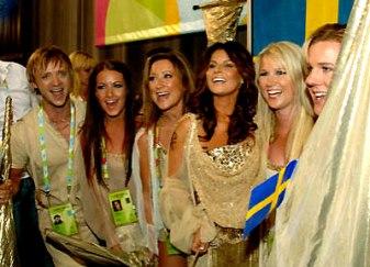 eurovision song contest , Carola